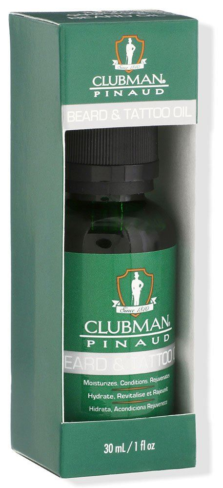 clubman beardtatoo oil